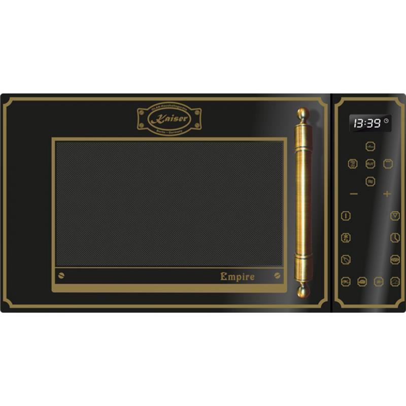 Мікрохвильова піч Kaiser M2500Em - квар.гриль/конвекц/25л/900Вт/диспл/сенсор/чорний