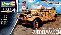 """Немецкий штабной автомобиль Type 82 """"Kubelwagen"""""""