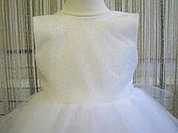 Детское платье. Прокат, продажа, пошив. Белое  платье для девочки . Платье на новый год