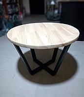 Столик журнальный в Loft стиле (MS-LTR-001-D700)
