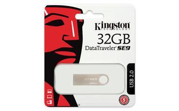 Накопичувач Kingston 32GB USB DTSE9 Metal Silver