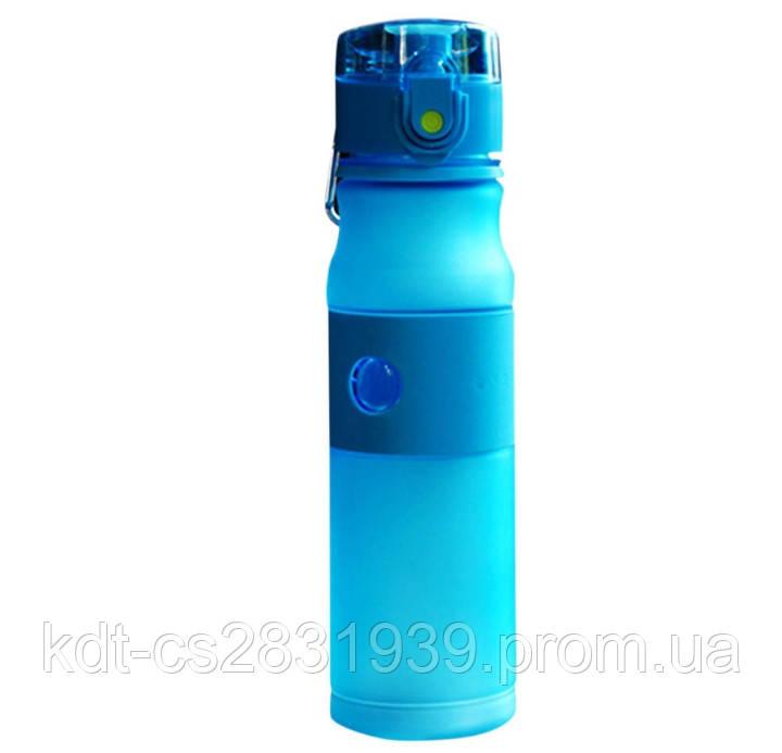 Пляшка для води з трубочкою 500мл