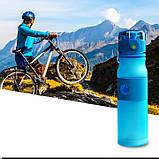 Пляшка для води з трубочкою 500мл, фото 2