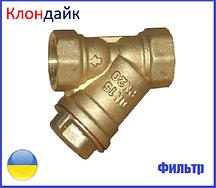 Фильтр грубой очистки воды 1/2 (усиленный 140гр.)