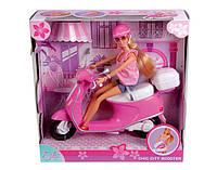 Оригинал. Кукла Steffi на скутере Simba 5730282