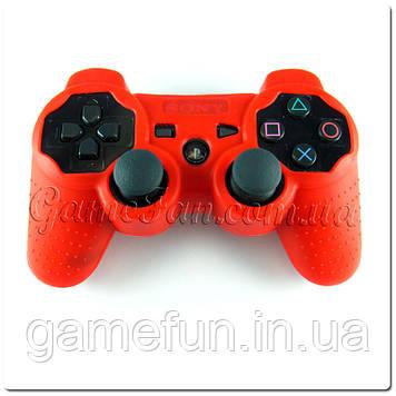 Силиконовый чехол для джойстика PS3 (Red)