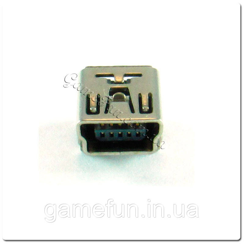 Разъем Mini USB для беспроводного джойстика PS3 (рев 1)