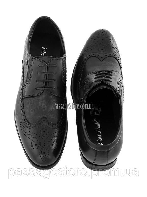 64190eed213729 Мужские кожаные туфли Roberto Paulo 736, цена 1 799 грн., купить в Харькове  — Prom.ua (ID#558265121)