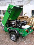 Передвижной дизельный компрессор для обдувки опалубки и перекрытий , фото 5