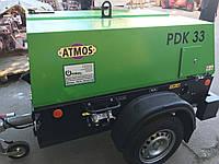Передвижной дизельный компрессор для обдувки опалубки и перекрытий