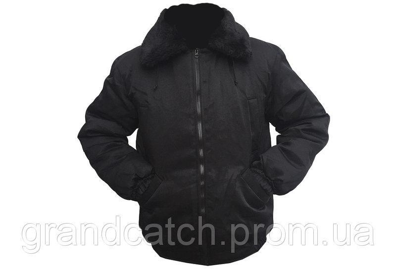 Куртка - пилот (черная)