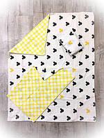 """Детское постельное белье """"Микки Маус"""", от ТМ Бонна из 3х предметов, фото 1"""
