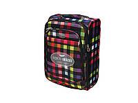 Легкий тканевый чемодан малого размера на 2-х колесах Foxy Line Morena 8835f52fffd