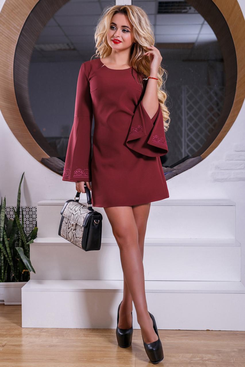 c65a52aed718b42 🎈Красивое платье цвета марсала / Размер M L XL XXL/P8А6В1 - 2553, цена 766  грн., купить в Харькове — Prom.ua (ID#841428635)