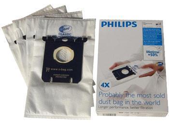 Змінний синтетичний мішок-пилозбірник S-bag Philips FC8021/03