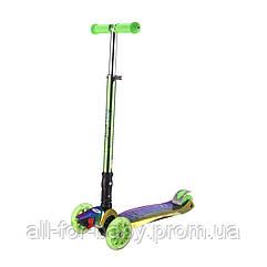 Детский самокат Bugs Hyper 2 Chameleon Зеленый (6905614651508)