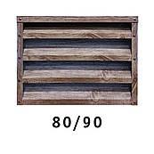 Забор Жалюзи Металлический 0.45 80 / 90