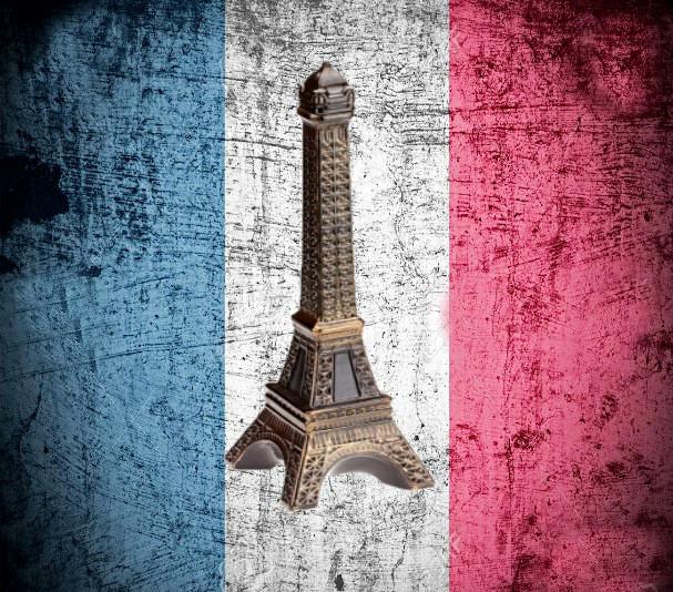 Париж Эйфелева Башня - винный графин штоф (0,75л)