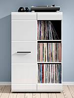 Книжный шкаф Fever  S182-REG1D/12/8-DSO/CA(BRW)