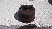 Ретро выключатель керамический коричневый дракон (двухклавишный)