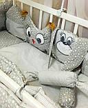 Постільний комплект в дитяче ліжечко, фото 4