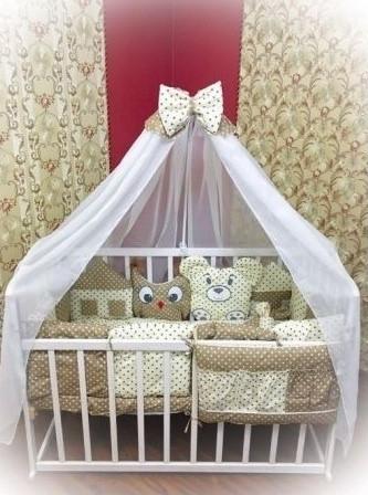 Постільний комплект в дитяче ліжечко