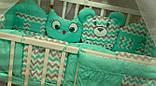 Постільний комплект в дитяче ліжечко, фото 5