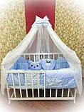 Постільний комплект в дитяче ліжечко, фото 6
