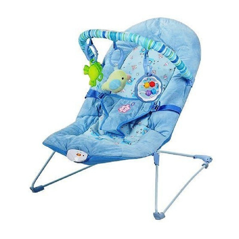 Шезлонг дуга детский 30606 с вибрацией для младенцев