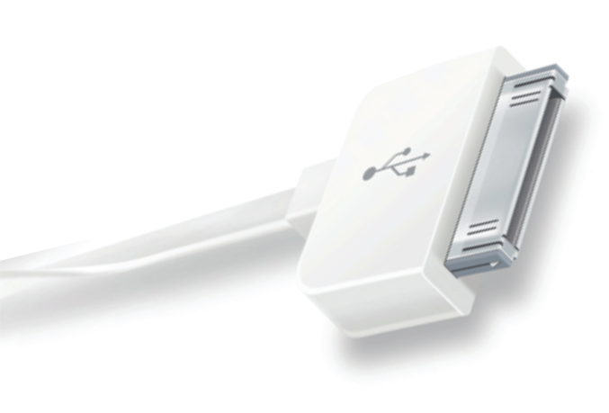 Кабель USB - APPLE 30 PIN 1m CRAFTMANN Дата-кабель