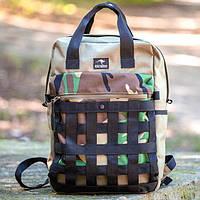 100 % ОРИГИНАЛ Городской рюкзак Plexus Camo. Рюкзак разрабатывался с учётом жизни в джунглях мегаполиса, фото 1