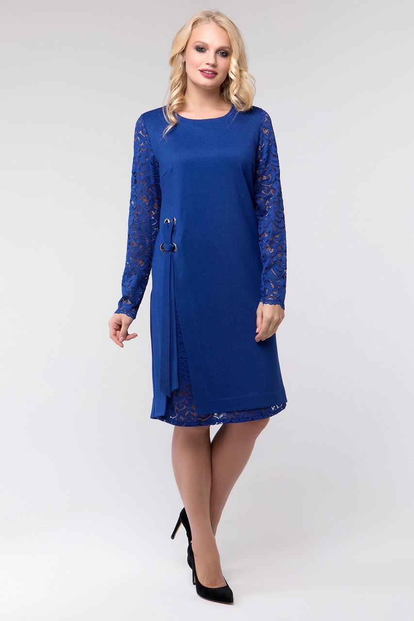 0613624e01470b2 Нарядное Платье с Гипюром, Размеры 50-58 — в Категории