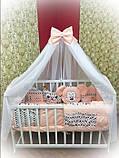 Постільний комплект в дитяче ліжечко, фото 8