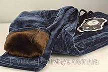Брюки женские зимние с содержанием вербльюжей шерсти - термо велюр на меху  M - 3XL, фото 3