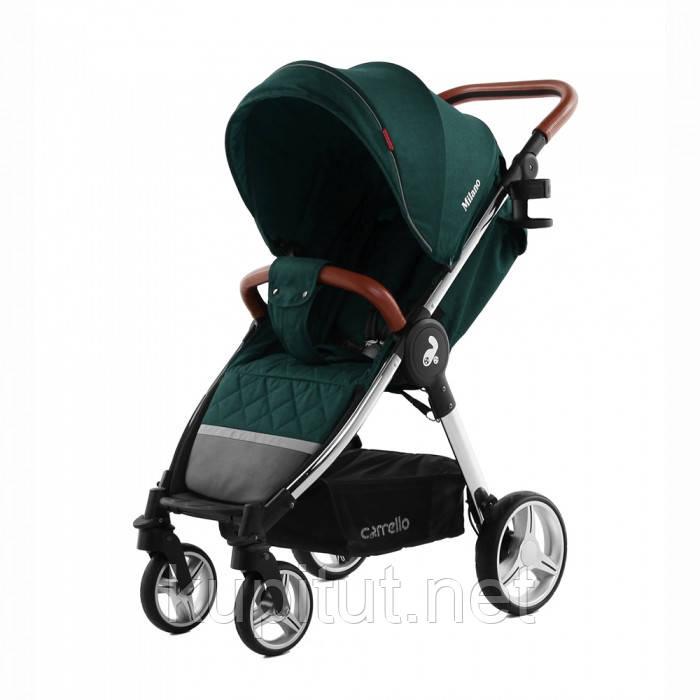 Коляска прогулочная CARRELLO Milano CRL-5501 Зеленая