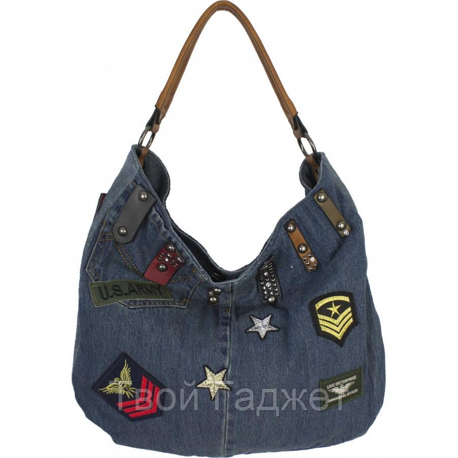 695c74723506 Сумка женская джинсовая №K8672 Синий - Tandox- интернет-магазин для всей  семьи в