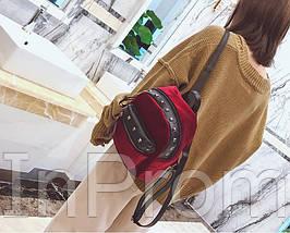 Рюкзак Jesse Velor Red, фото 3