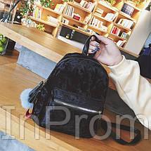 Рюкзак Amelie Velor Black, фото 2
