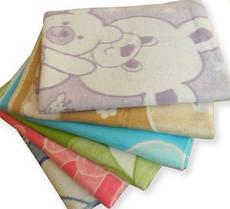 Детское одеяло байковое 110х140 см в роддом