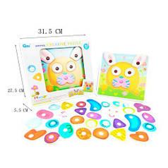 Разв. игрушка пазлы Животные в кор.31,5*27,5*5,5см (36шт/ящ) HC209162