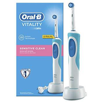 Електрична Зубна Щітка Braun Oral-B Vitality Sensitive Clean — в ... 31b84e66c81f7