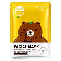 Маска Bioaqua Facial Mask Animal тканевая маска (Миша)