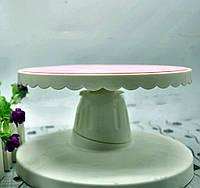 Подставка под торт вращающаяся наклонная
