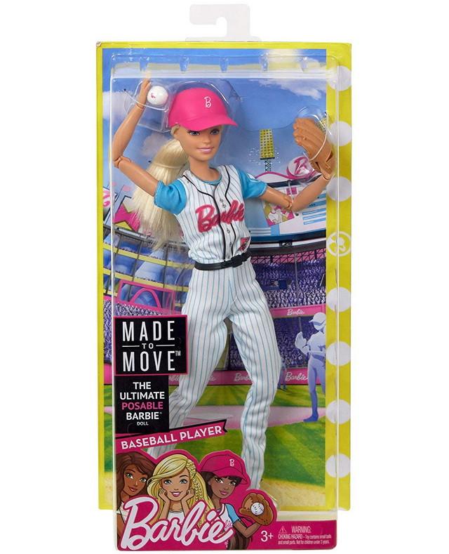 кукла барби безграничные движения йога бейсболистка