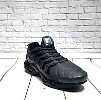 Мужские кроссовки Nike Tn Air цвет зеленые/хаки/черные 0162НИМ