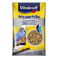 Витамины для волнистых попугаев и экзотических птиц при линьке Vitakraft «Mauserhilfe» семена 20 г