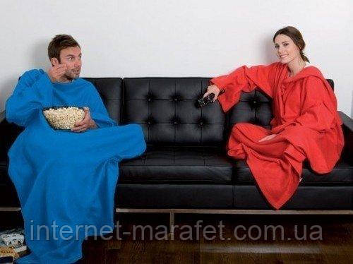 Халат домашний Snuggie Blanket (плед с рукавами)