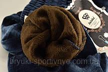 Штани жіночі зимові з вмістом вербльюжей вовни - термо велюр на хутрі M - 3XL, фото 3