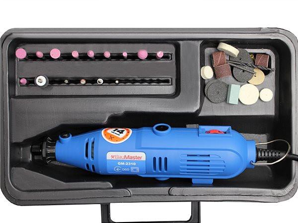 Гравер электрический 135 Вт BauMaster GM-2310 F