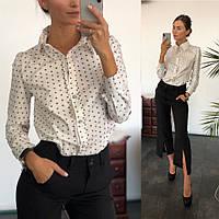 Стильная женская рубашка мод 814